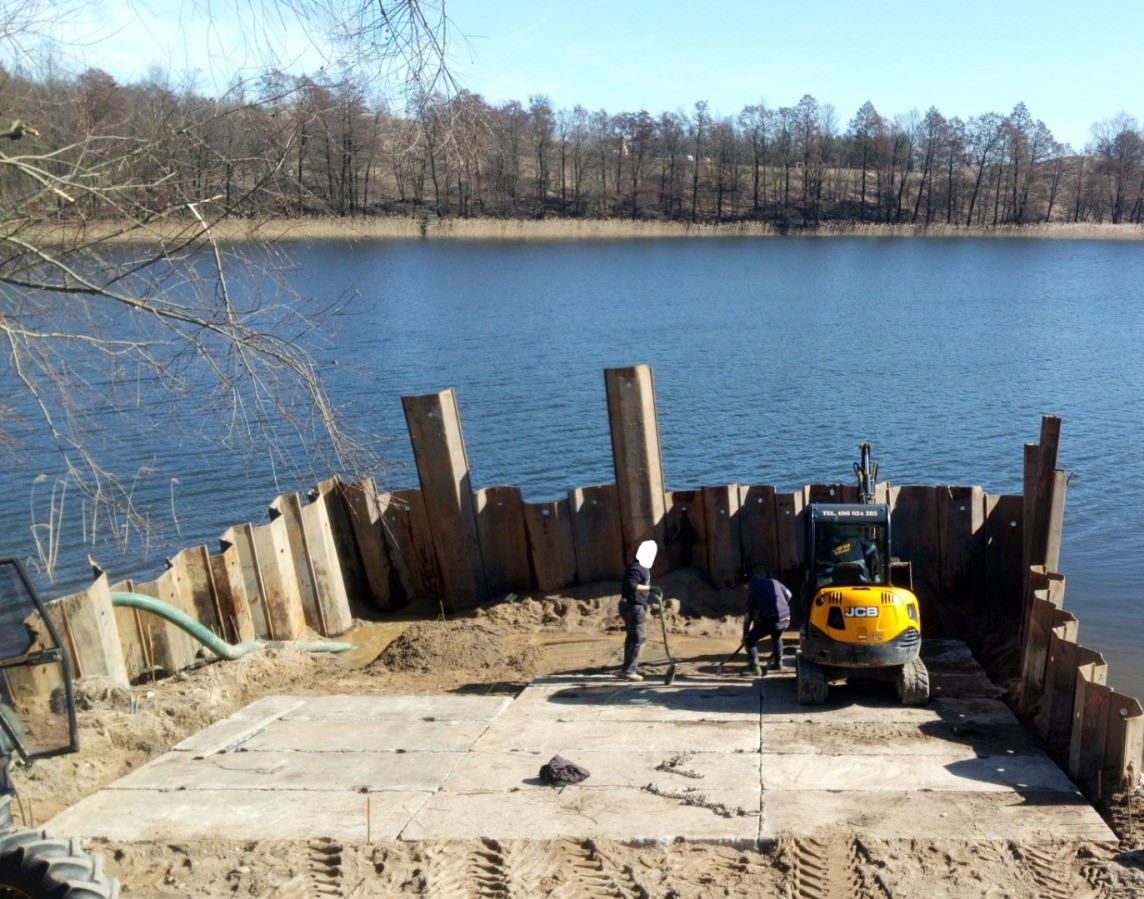 Budowa Slipu do wodowania łódek