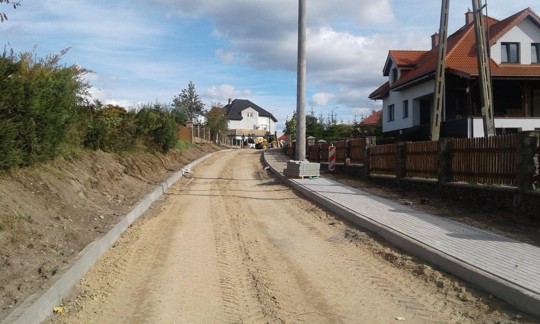 Budowa ul.Mikołajczyka w Gołdapi
