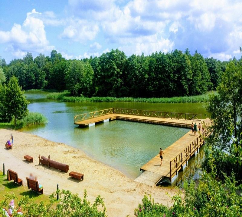 Ukończenie budowy plaży w Olecku