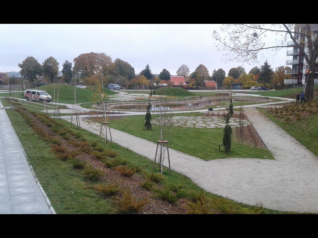 Budowa parków w Mieście ełk