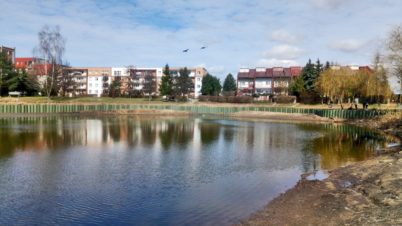 Ełk - modernizacja jeziorka miejskiego